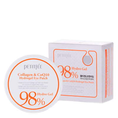 Набор патчей д/век гидрогел. КОЛЛАГЕН/Q10 Collagen&CoQ10 Hydrogel Eye Patch, 60 шт